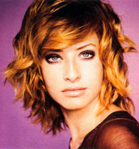 nice hairstyles for girls with curly. short haircuts for fine wavy