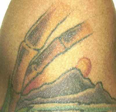 A Tropical Panorama Tattoo