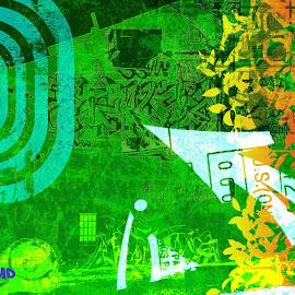 wallpaper keren graffiti di dinding