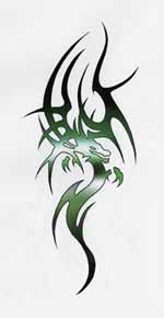 Best Tribal Tattoos Dragon Tattoo Designs 5