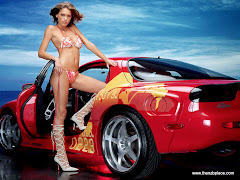 Super Cars With Hot Girls Wallpapers 2011