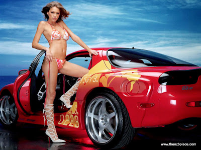 Cool Super Cars With Hot Girls
