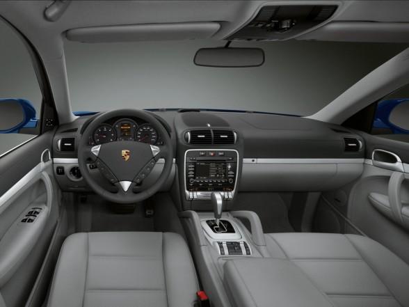 Suv Inside Car Porsche Cayenne Diesel