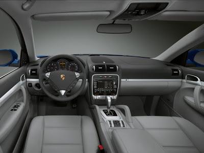 SUV Car Porsche Cayenne Diesel Dashboard