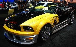 Ford Mustang GT Fast Sport Car