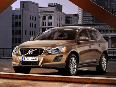 Volvo XC60 SUV Car Front