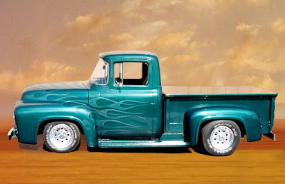 Truck Classic Car Airbrush Designs 3