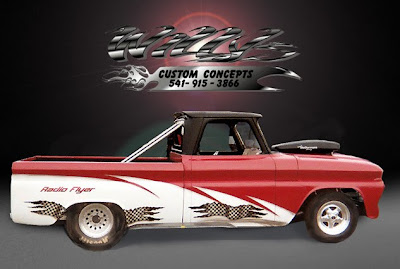 Truck Classic Car Airbrush Designs