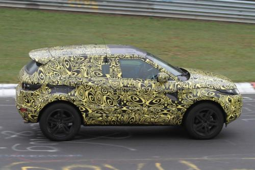 Land Rover Evoque Images. The 5-door Evoque will be