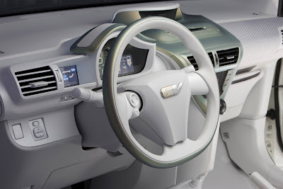 Toyota FT-EV Electric inside car 4