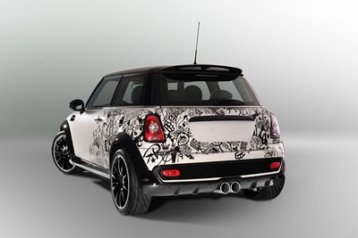 Mini Cooper Car Tribal Airbrush 3