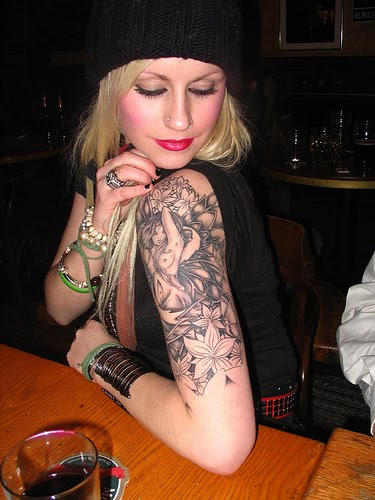 tattoo sleeves on girls. Tattoo Sleeve For Sexy Girls