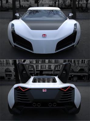 2011 Honda RA X Concept Sports Car 5