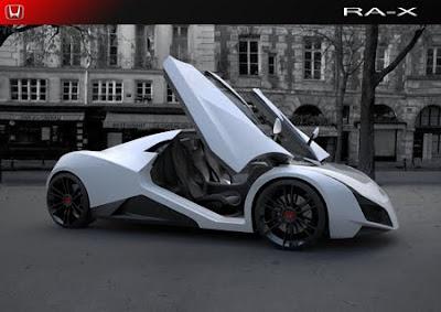 2011 Honda RA X Concept Sports Car 2