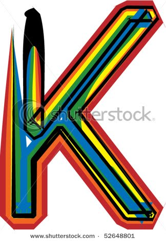 K Alphabet Letter best graffiti inspiration: Graffiti Alphabet Letter K Designs