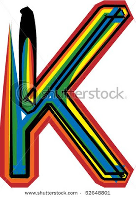 Graffiti Alphabet Letter K Designs 7