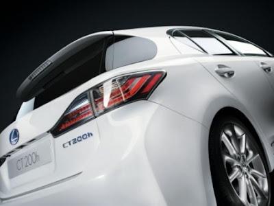 2011 Lexus CT 200h attitude and driving 3