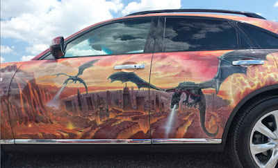 10 Amazing Airbrush Car Modification Photography 7