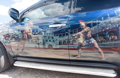 10 Amazing Airbrush Car Modification Photography 8