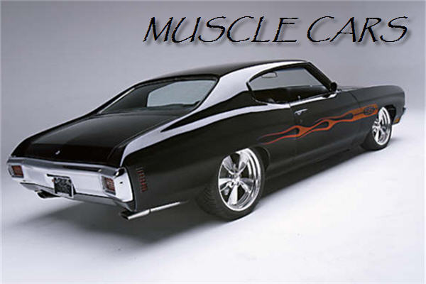 old muscles car