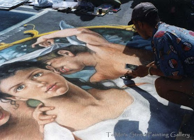 Street Painting Airbrush Artwork
