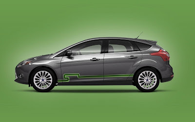 Custom Ford Focus Car Airbrush Artwork 06