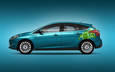 Custom Ford Focus Car Airbrush Artwork 02