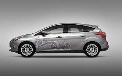 Custom Ford Focus Car Airbrush Artwork 01