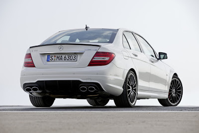 mercedes-benz-c63-amg-white-back