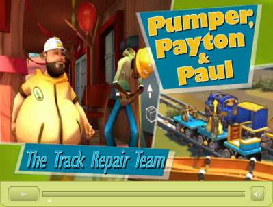 Pumper, Payton and Paul - The Track Repair Team - GeoTrax<br />