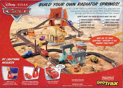 geotrax disney pixar cars create your own radiator springs rh geotraxblog blogspot com GeoTrax Train Layout GeoTrax Layout Plans