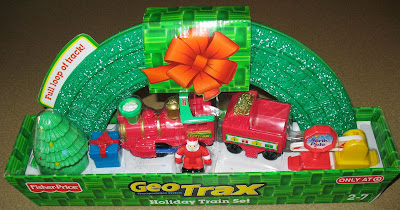 GeoTrax Holiday Train Set with Santa