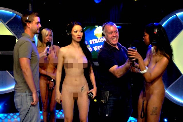 World s strongest naked woman contest
