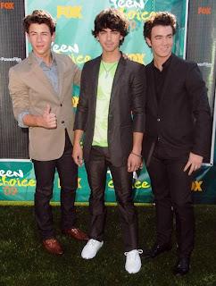 Joans Brothers Joe Jonas, Nick Jonas, Kevin Jonas