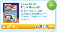 rightguard CVS: 2 Free Right Guard