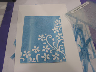 Inked Dry Embossing