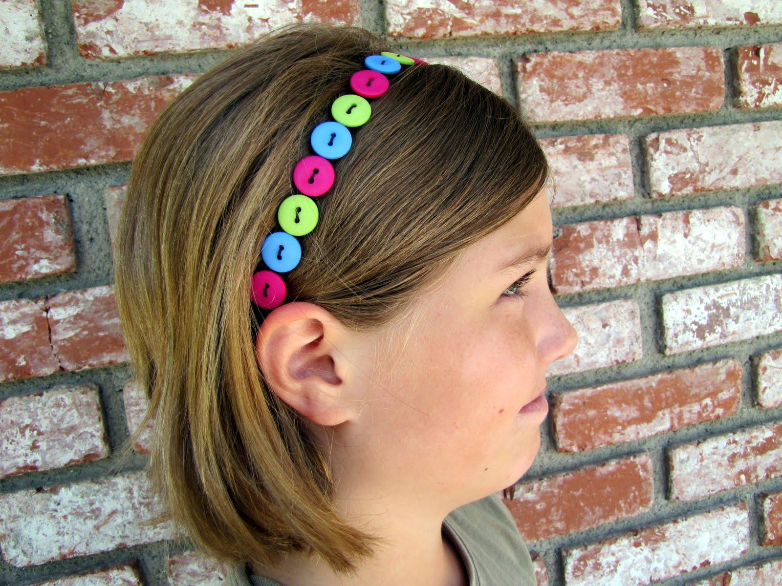 Украшение на волосы для девочек своими руками