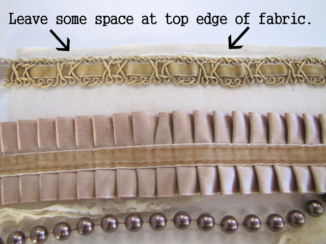 Браслет-манжета из ткани, лент и кружев IMG_8367