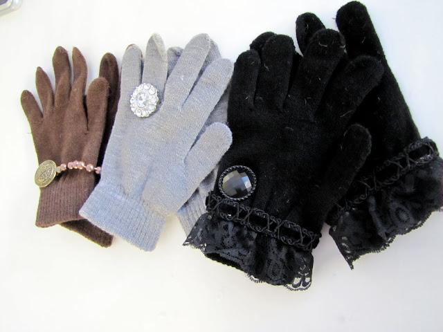 Украшение перчаток своими руками