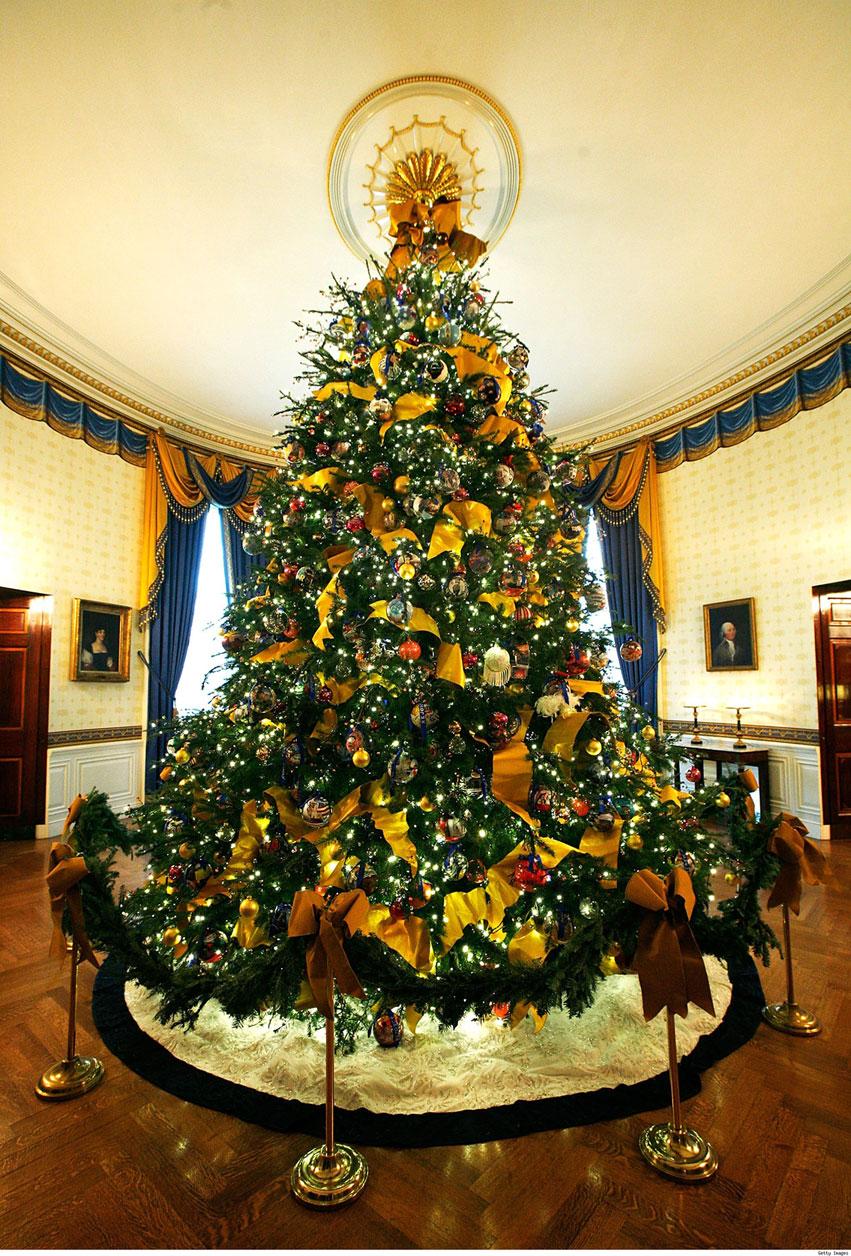 decorar uma arvore de natal : decorar uma arvore de natal:White House Christmas Tree