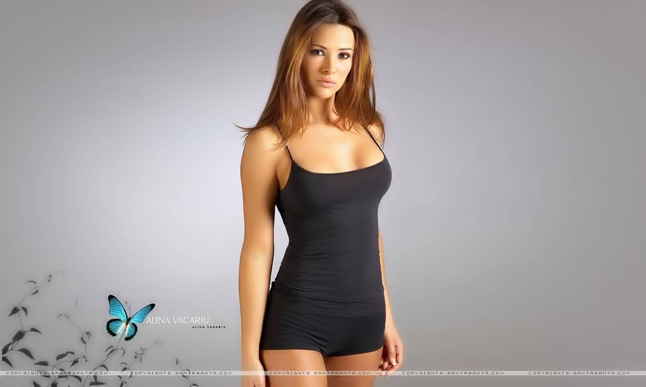 alina%2Bvacariu%2Bhq%2Bwallpaper%2B(8) Model wearing swimsuit, women swimwear and bikini gallery