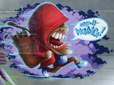 Switzerland graffiti