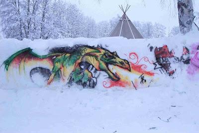 Sweden graffiti