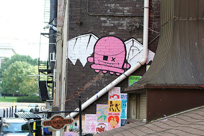 graffiti, poster graffiti and stickers by buff monsters