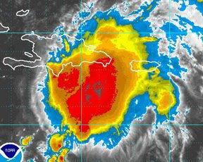 Disturbio podria convertirse en depresión tropical sobre territorio dominicano