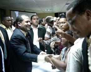 """Domingo Páez luce desafiante: """"¡Si nosotros lo llevamos, nosotros lo sacamos!"""""""