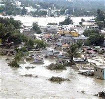 Dos vaguadas provocan lluvias se registran en el país