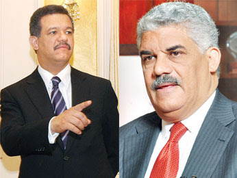 Leonel y MV sellan acuerdo para reforma constitucional