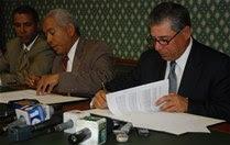 ADN firma acuerdo con junta sobre terrenos en Isabel Villas