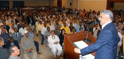 Vargas adelanta acciones como nuevo presidente del PRD